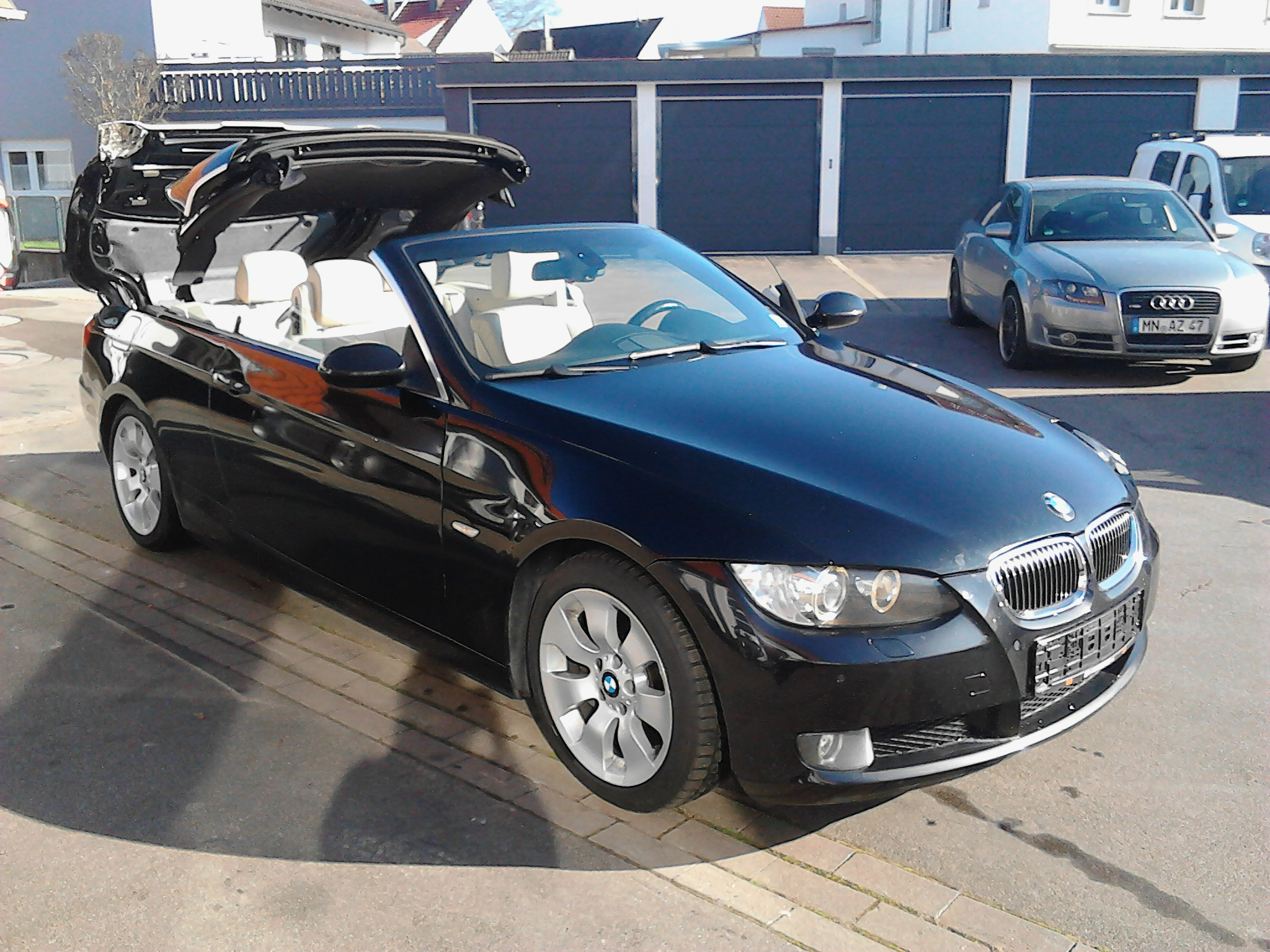 bmw 330 dpf cabrio autom autohaus bruechle. Black Bedroom Furniture Sets. Home Design Ideas